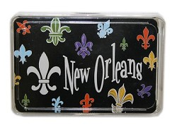 Fleur-de-lis Design Playing Cards