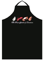 Four Seasons Embroidered Apron
