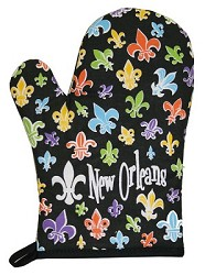 FDL Oven Mitt with Black Trim