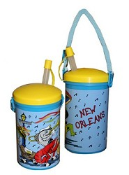 N.O. Seafood Band Cup w/ Strap