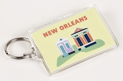 Key Chain Houses Design