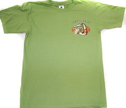 Happy Hour Gator T-Shirt Green Large