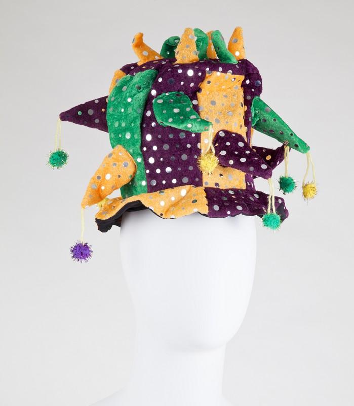 Mardi Gras Jester Hats Assorted,A8800-1