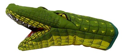 Alligator 3D Oven Mitt,654AL