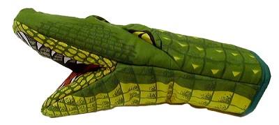 Alligator 3D Oven Mitt,654AL