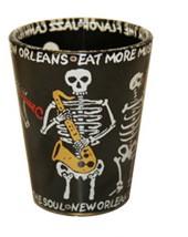 Skeleton Sax Clear Shot Glass,G3NOSS