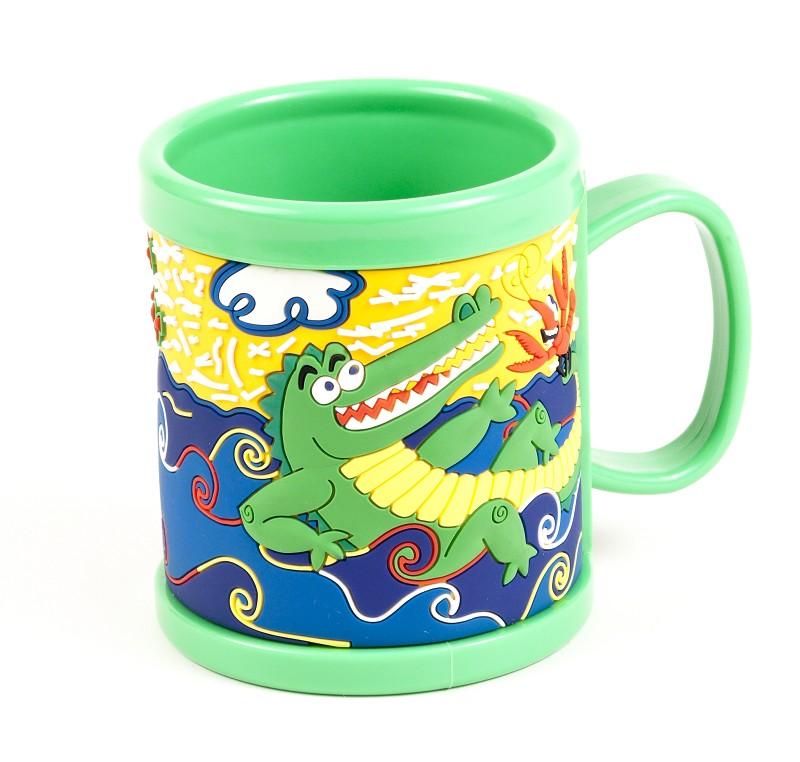Cajun Critter Kids Plastic Mug,04CC