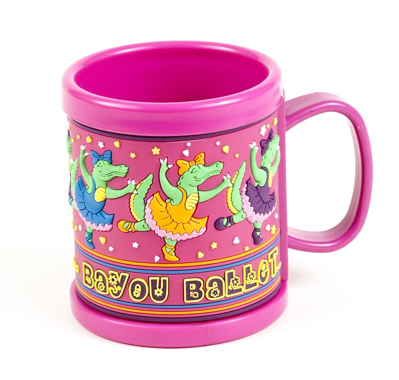 Bayou Ballet Kids Plastic Mug,04ALIK