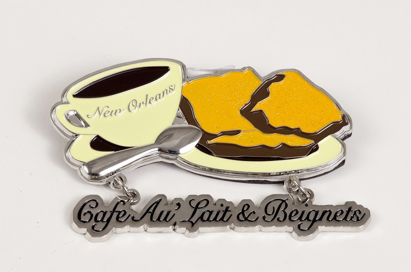 Coffee & Beignet Magnet
