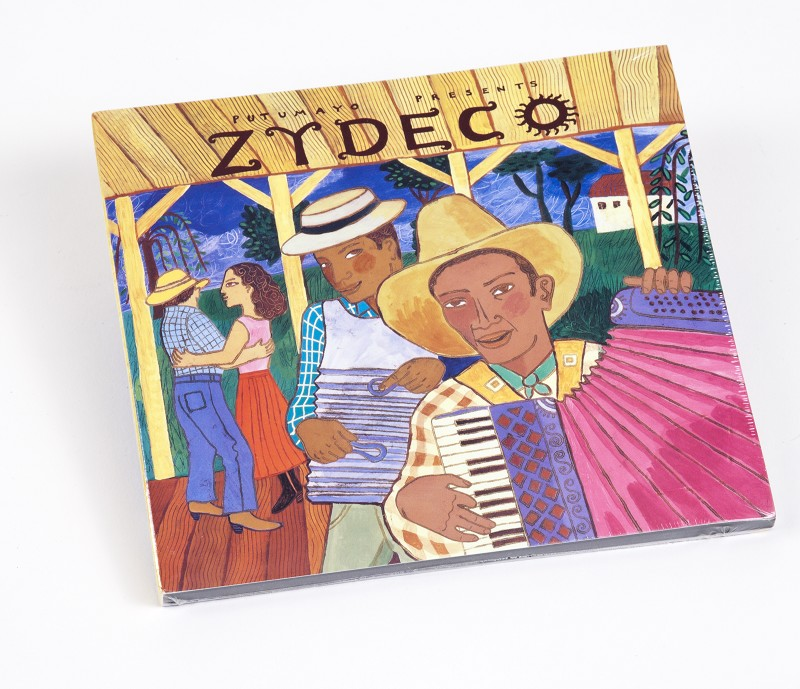 Zydeco Cd,PUT-1602