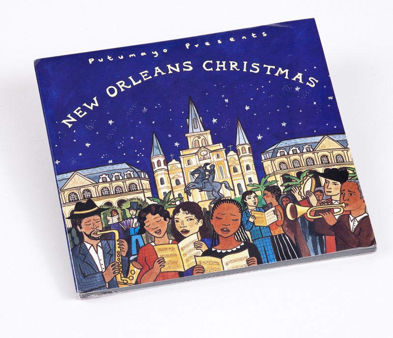 New Orleans Christmas Cd,PUT-2562