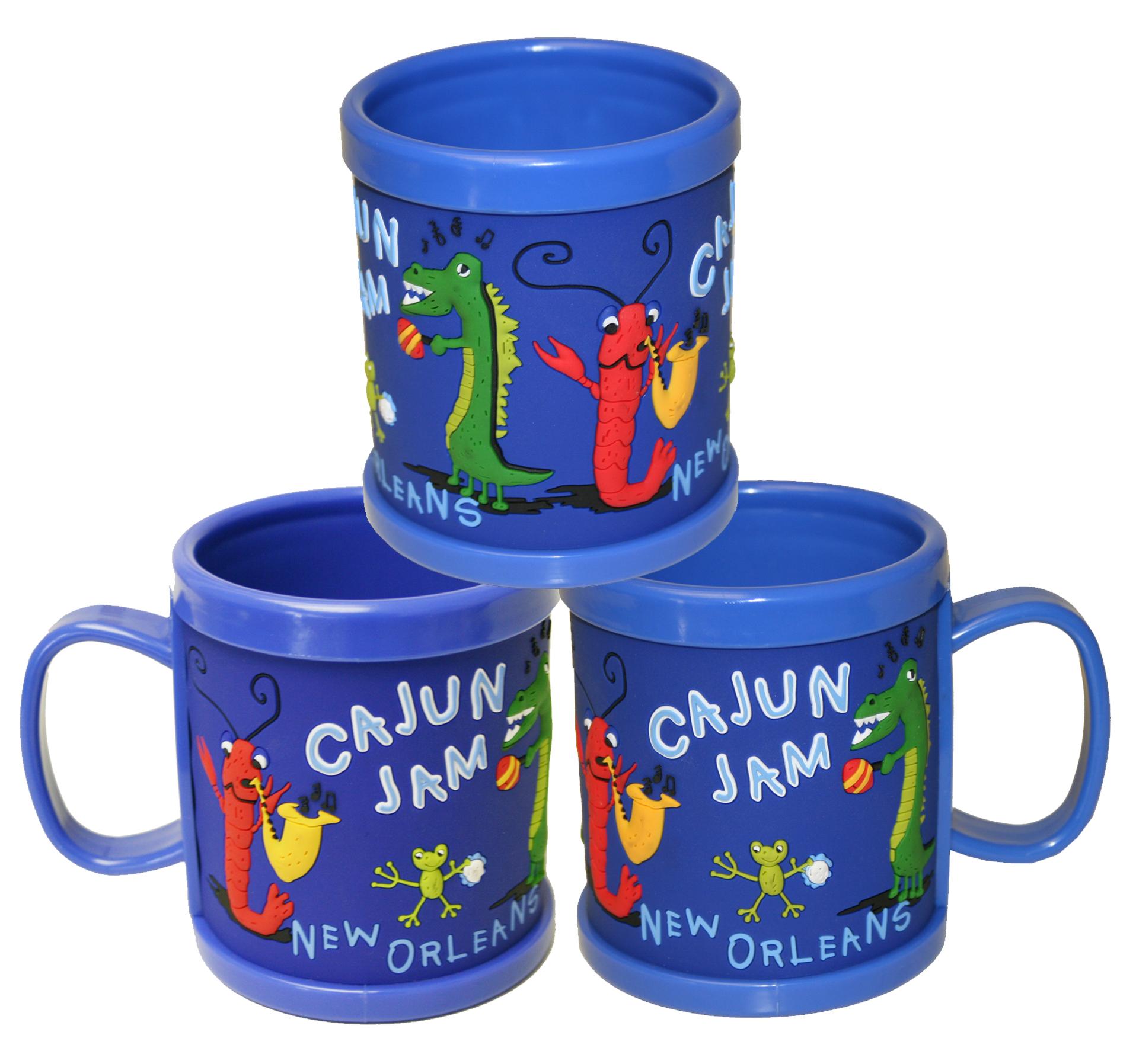 Cajun Jam Kids Plastic Mug,04HANK