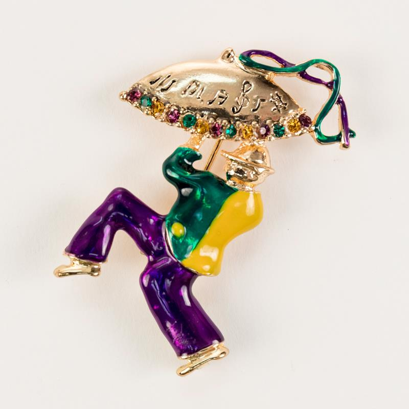 Jester with Umbrella Pin,136