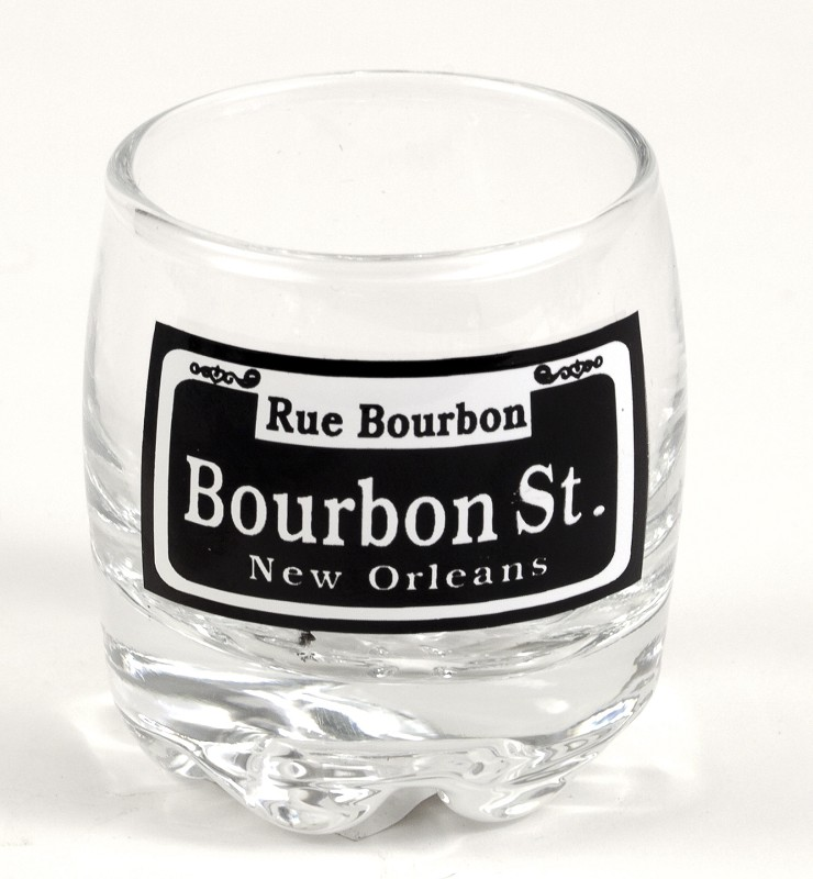 Bourbon St. Scotch Shot Glass,132061