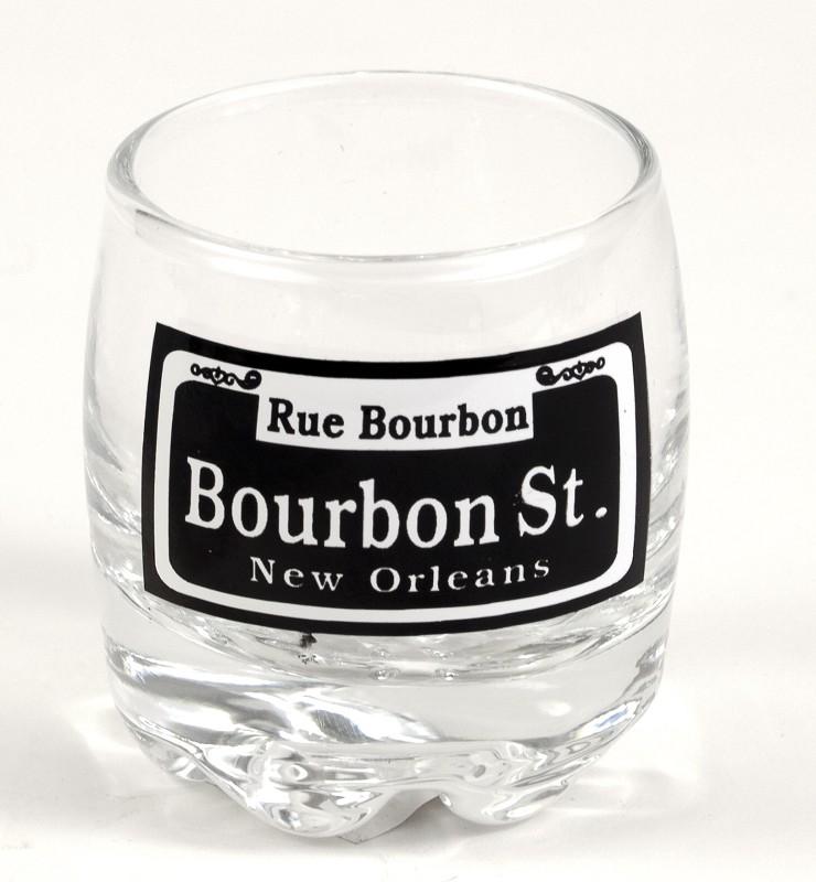 Bourbon St. Scotch Shot Glass,132061
