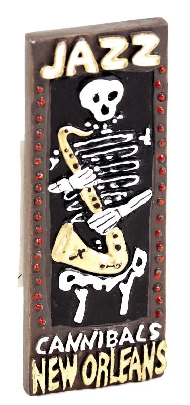 Skeleton Sax Magnet,MS27NOSS