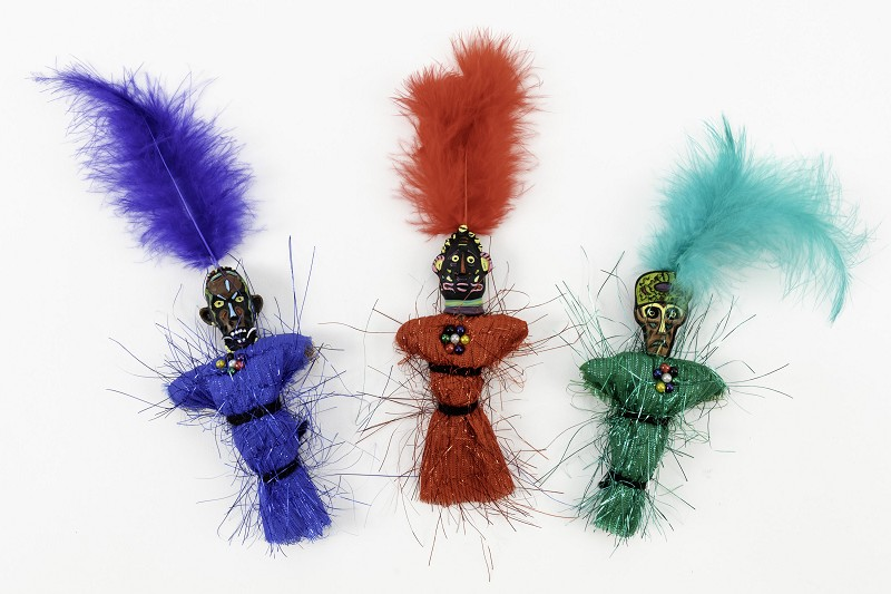 Voodoo Doll with Magnet,MHQ1012-1