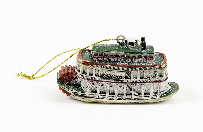 New Orleans Steamboat Ornament,JH10
