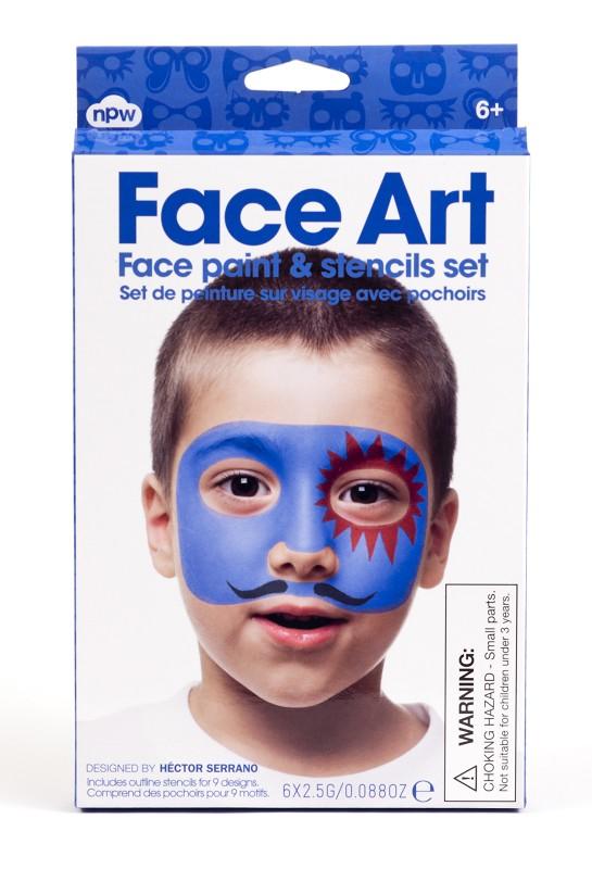 Face Art Boy,W8104