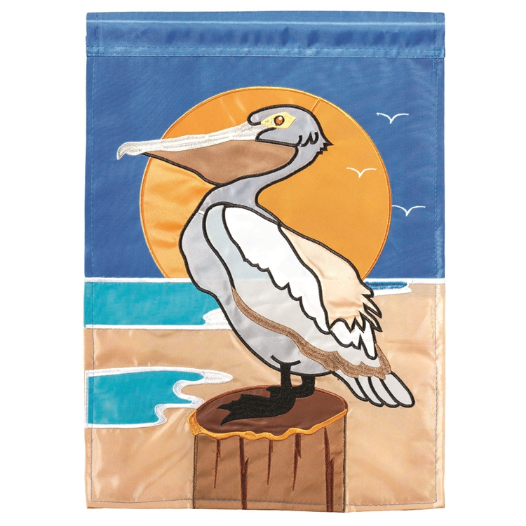 Pelican Garden Flag,01418