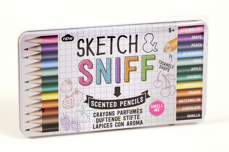 Sketch and Sniff Pencils,NP21844