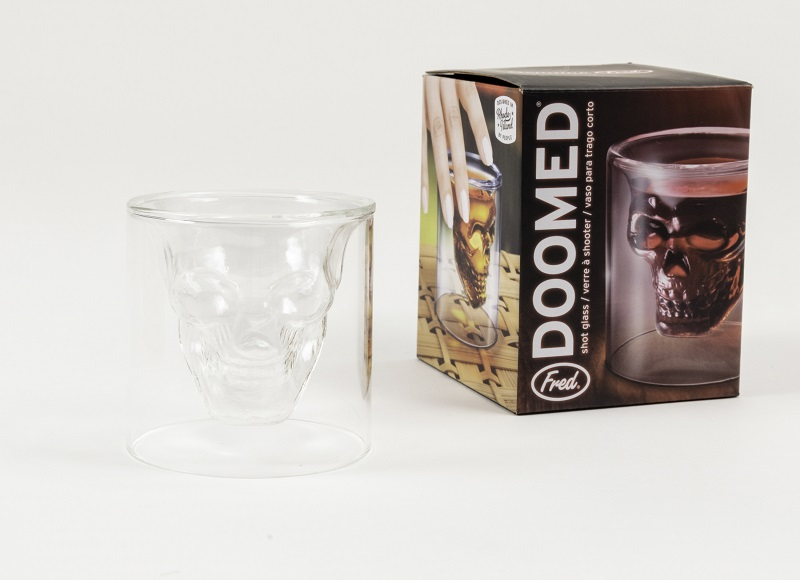 Doomed Skull Shot Glass,DOOM