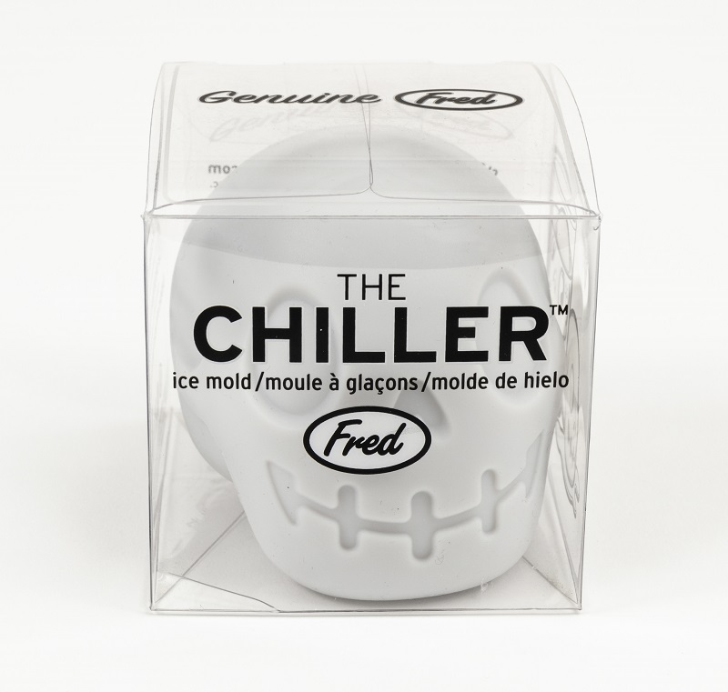 The Chiller 3D Skull Ice Mold,CURSED
