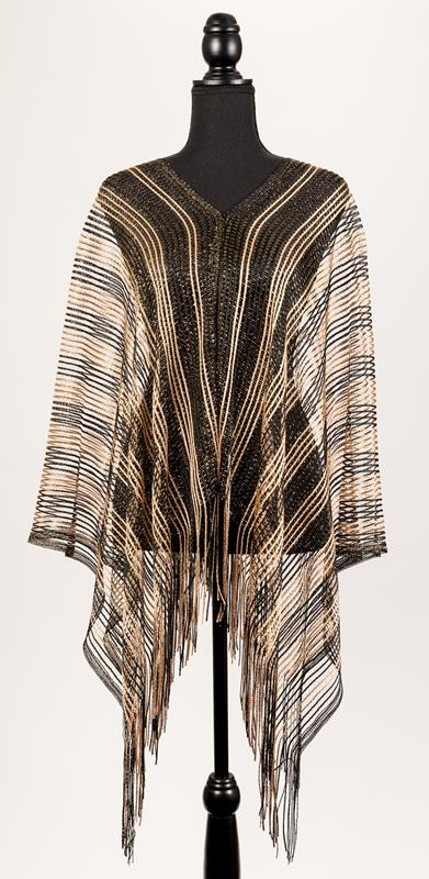 Black and Gold Poncho,92