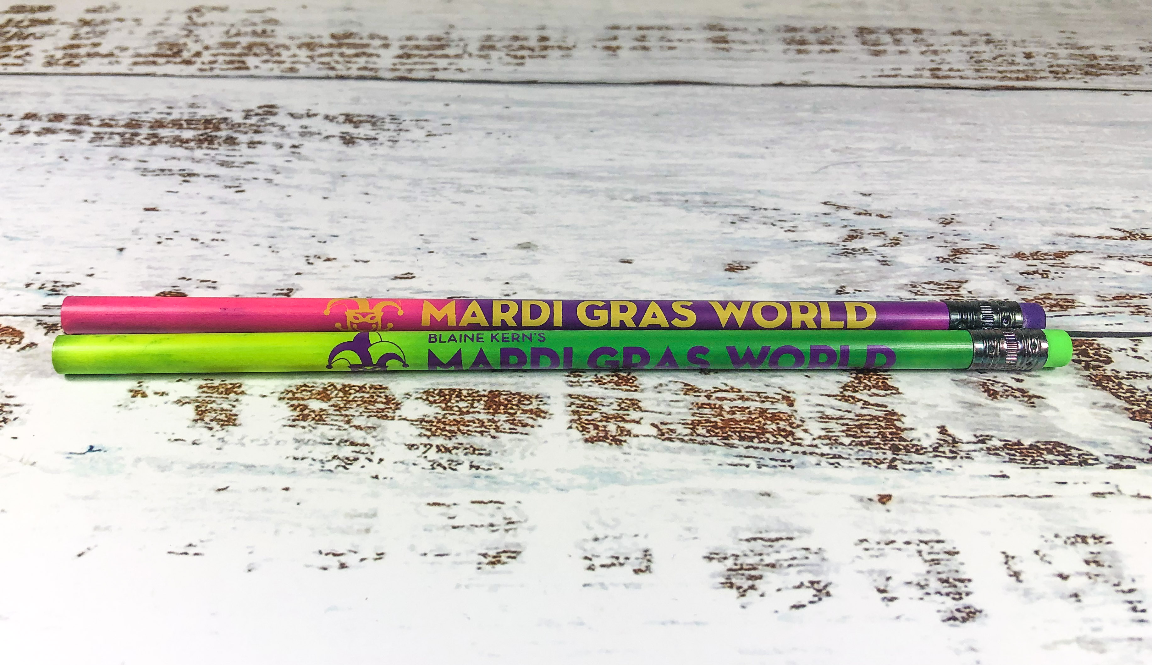 New Mardi Gras World Logo Mood Pencils,MGW-MOOD PENCILS