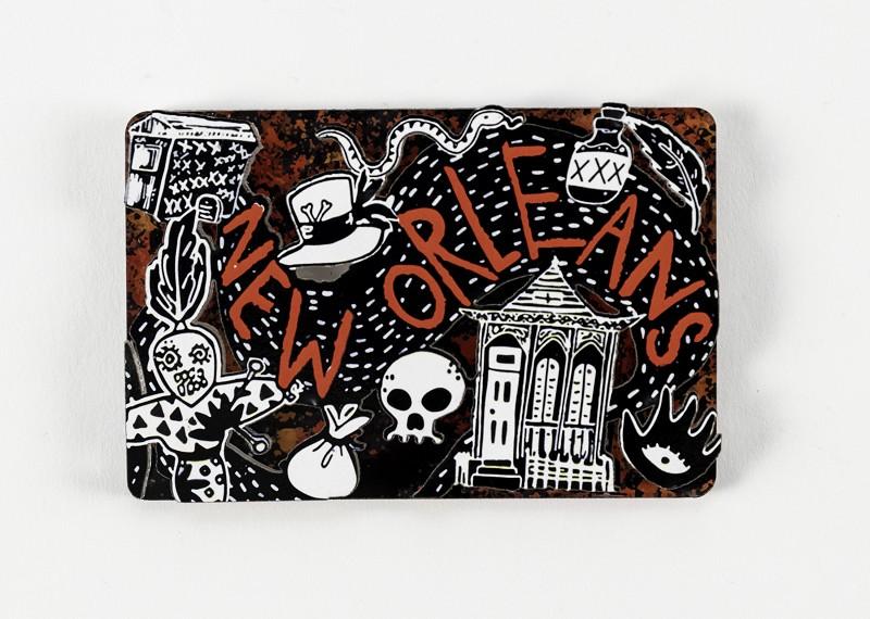 Voodoo New Orleans Magnet,MS28VUDU