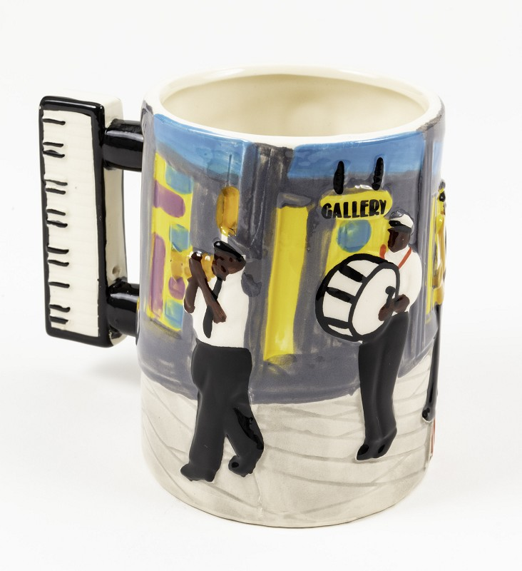 Band Mug,08BRASS