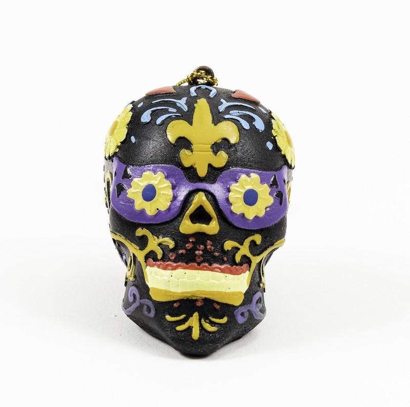 Day of the Dead Skull Ornament,Q13