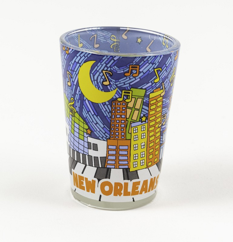 Sky Line Shot Glass,G3SKY