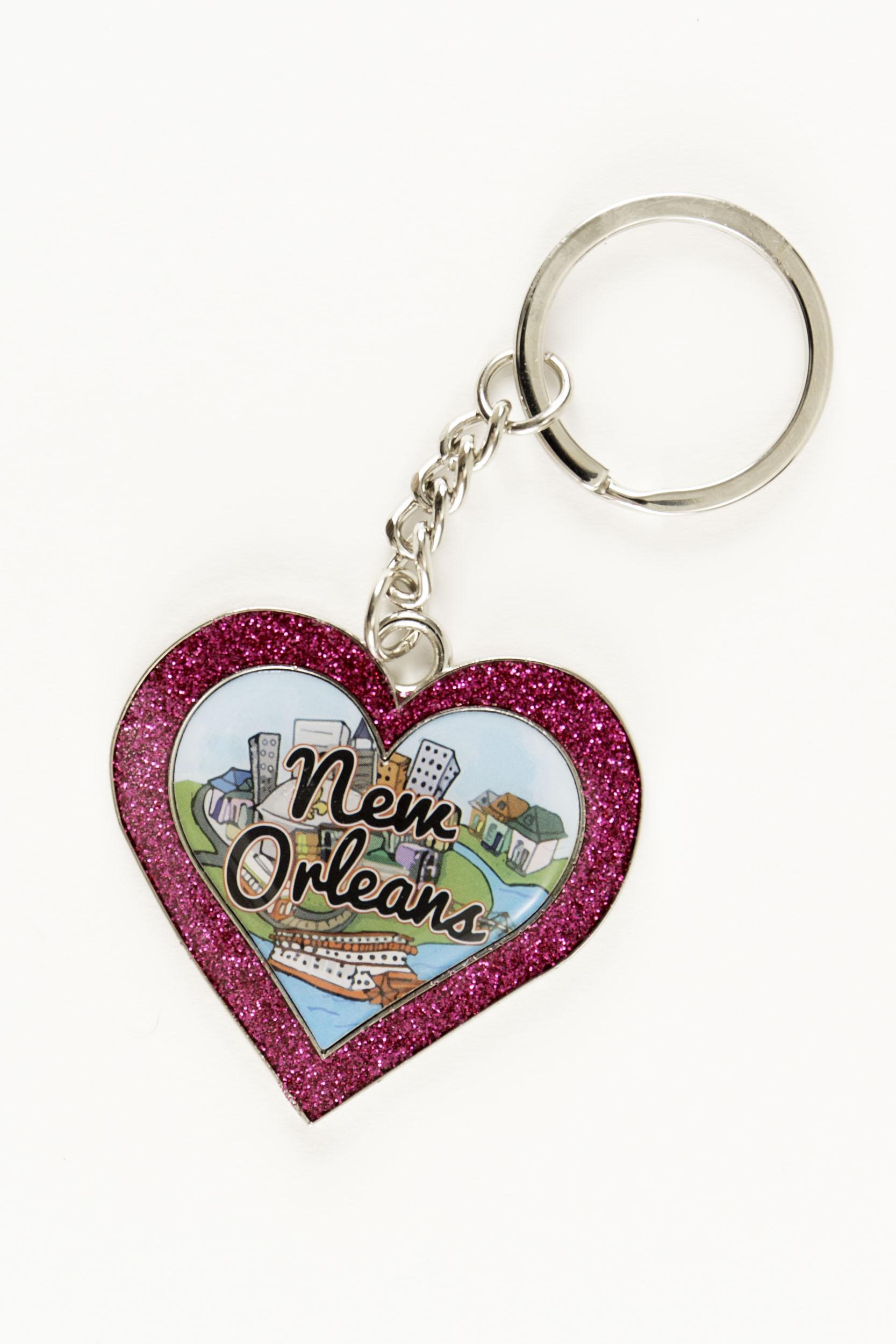 Heart Line Keychain,44HRT