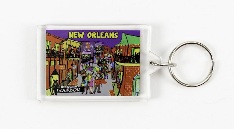 Party Line Keychain,47PRTY