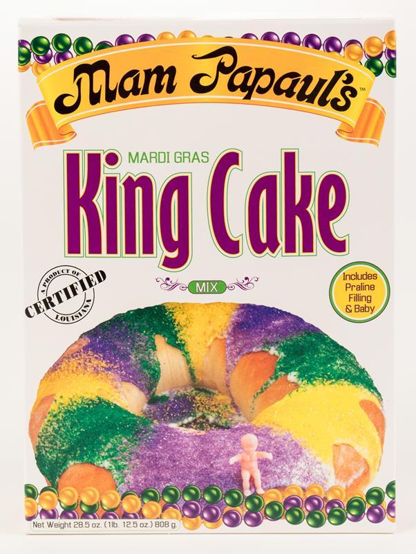 King Cake Mix with Praline,70010DRY