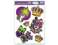 Mardi Gras Clings (pack),55522