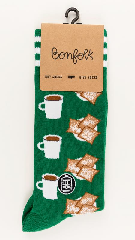 Beignet Bonfolk Sock