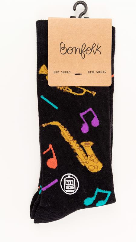Jazz Bonfolk Sock