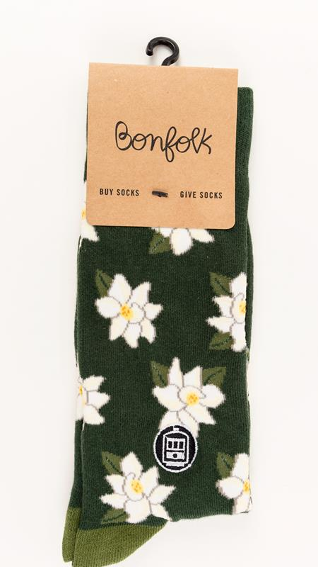 Magnolia Bonfolk Sock