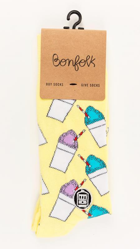 Snowball Bonfolk Sock