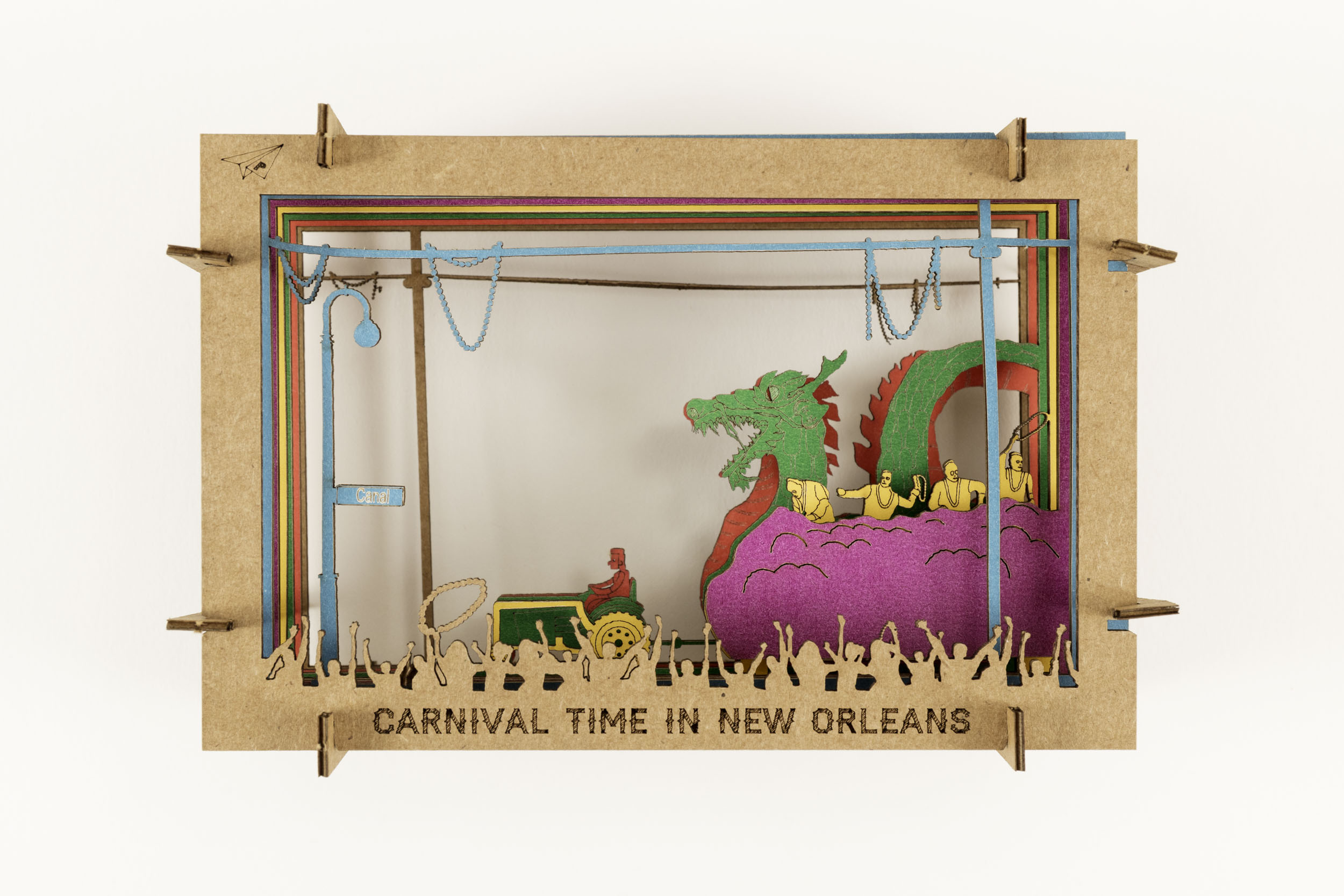 Mardi Gras Diorama