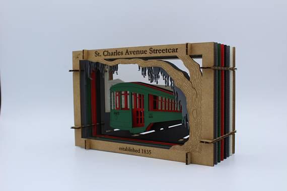 Streetcar Diorama