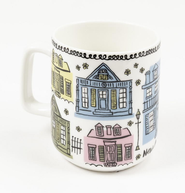 Creole Cottages Mug,10207