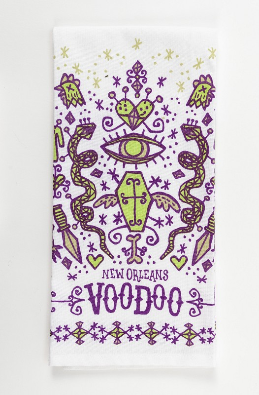 New Orleans Voodoo Kitchen Towell,10177