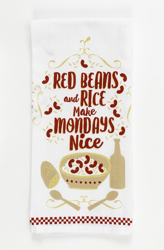 Red Beans and Rice Kitchen Towel,10070