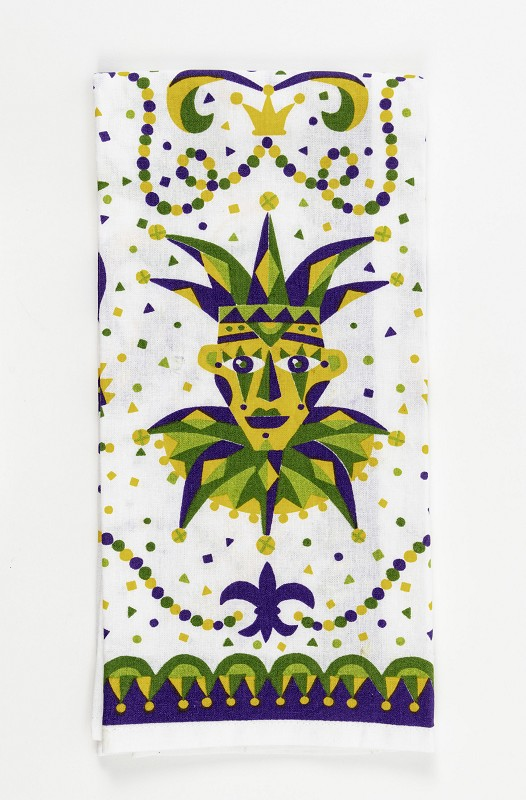 Mardi Gras Jester Kitchen Towel,10087