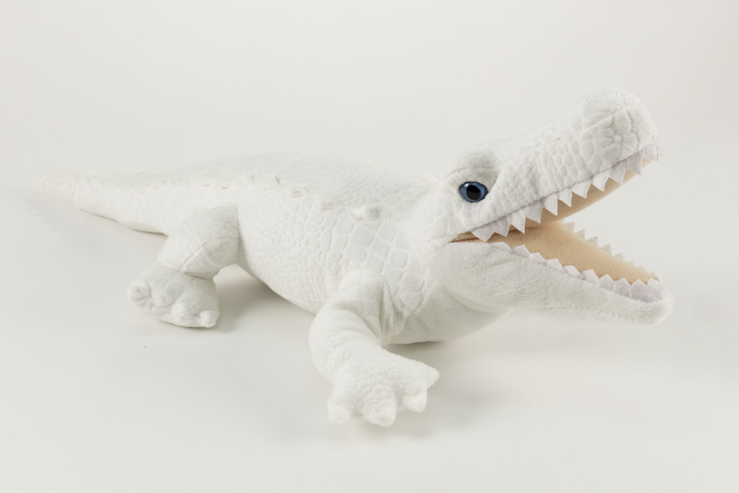 White Alligator Plush,12259