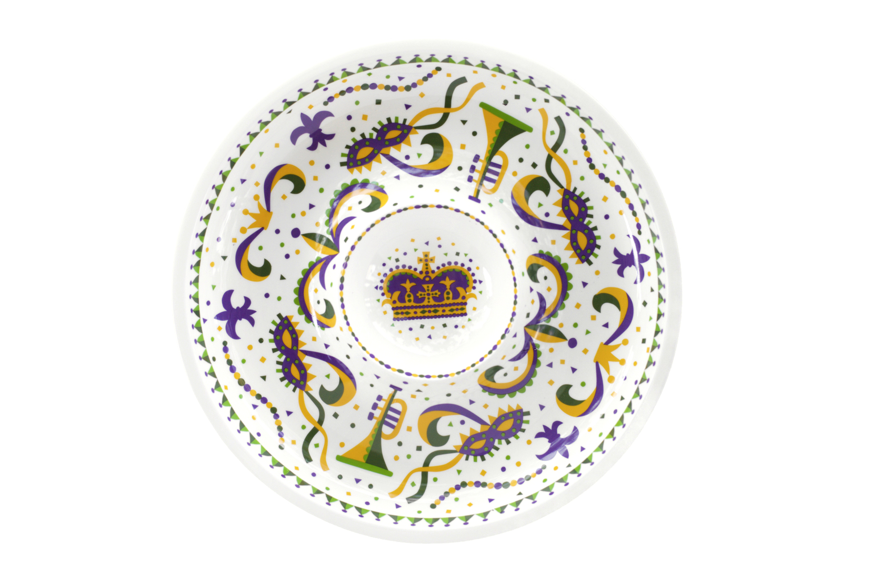 Mardi Gras Chip and Dip,10233
