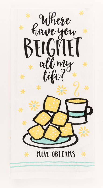 Beignet Kitchen Towel,10193